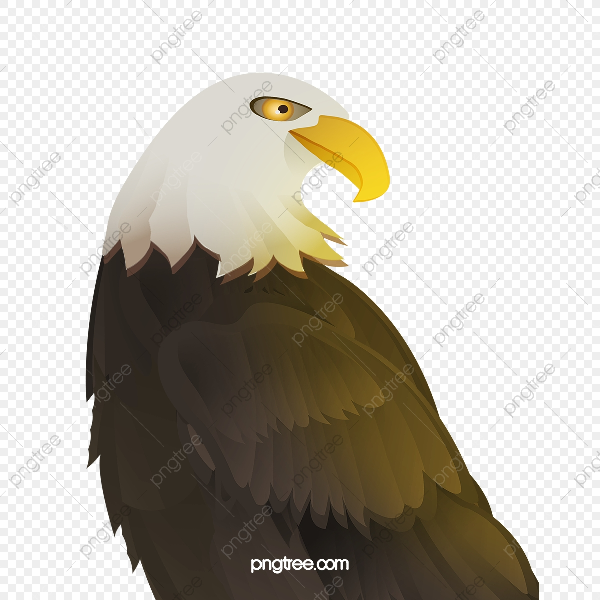 Eagle, Eagle Clipart, Black PNG Transparent Clipart Image and PSD.
