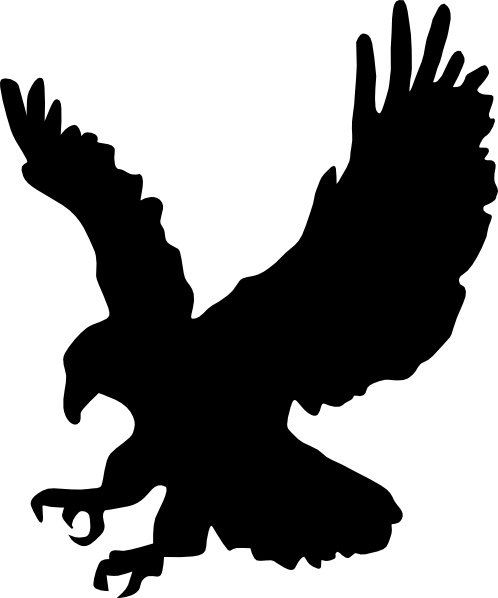 Eagle clip art Free vector in Open office drawing svg ( .svg.