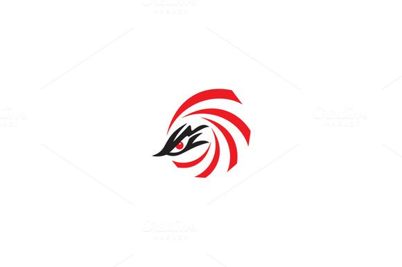 Eagle Eyes Logo by drawzen on @creativemarket.