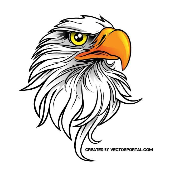 EAGLE VECTOR CLIP ART.