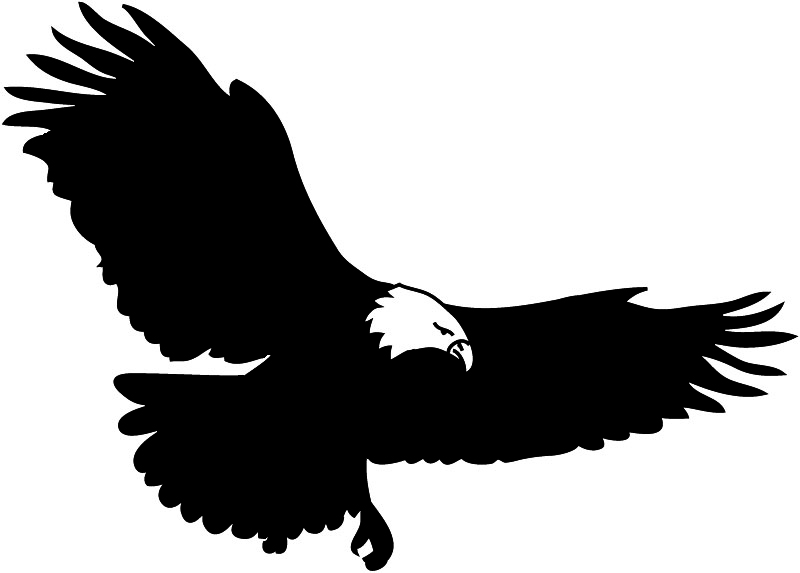 Eagle flying clipart » Clipart Station.