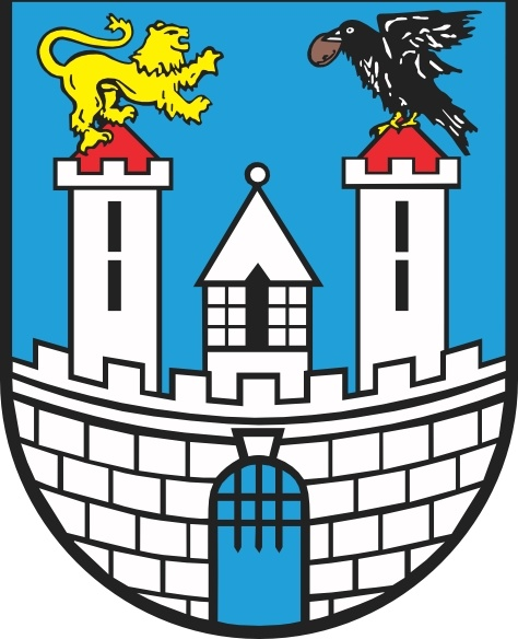 Lion Eagle Castle Czestochowa Coat Of Arms clip art Free vector in.