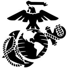 Marine Corps Emblem Clip Art.