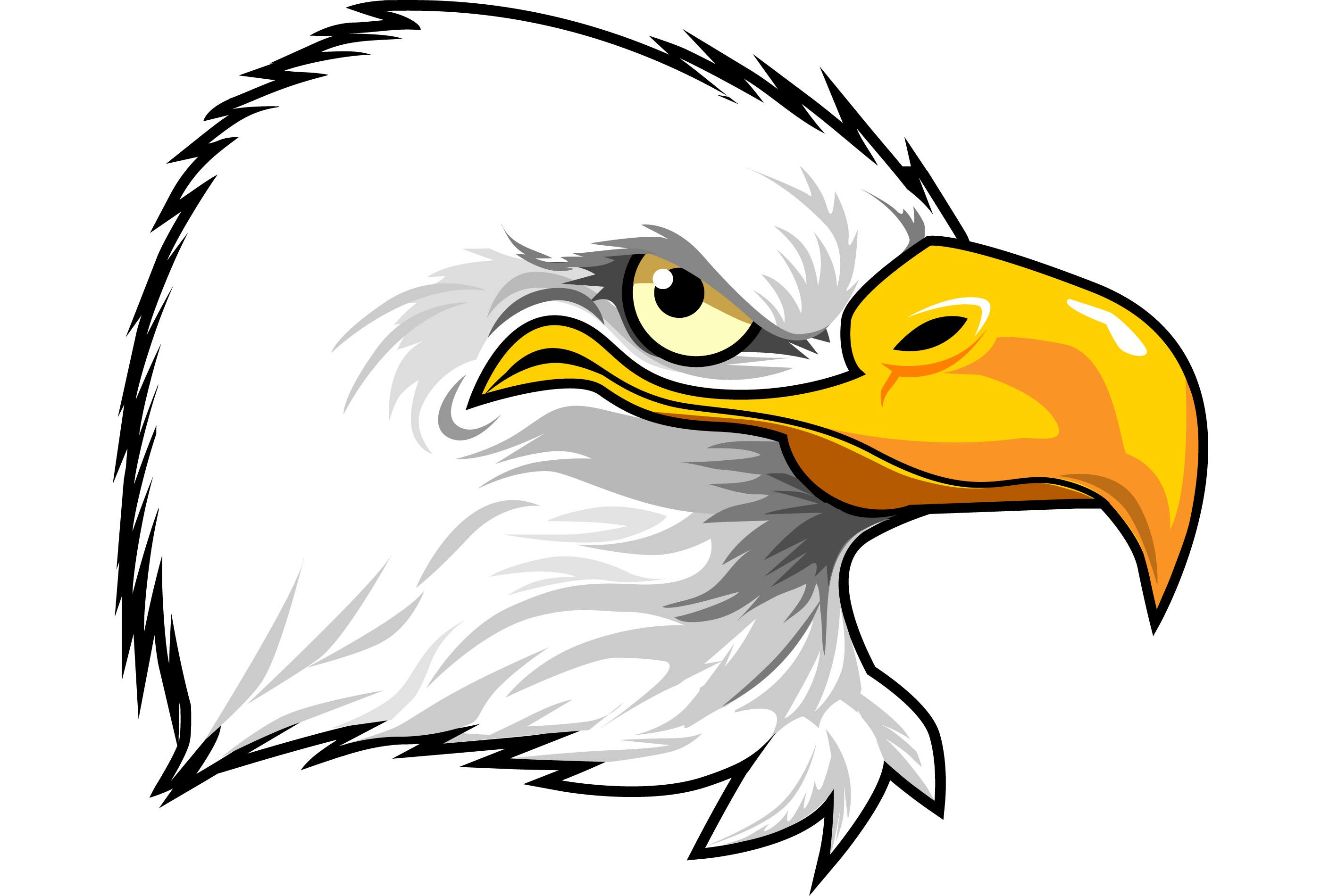 Free Eagle Head Clipart.