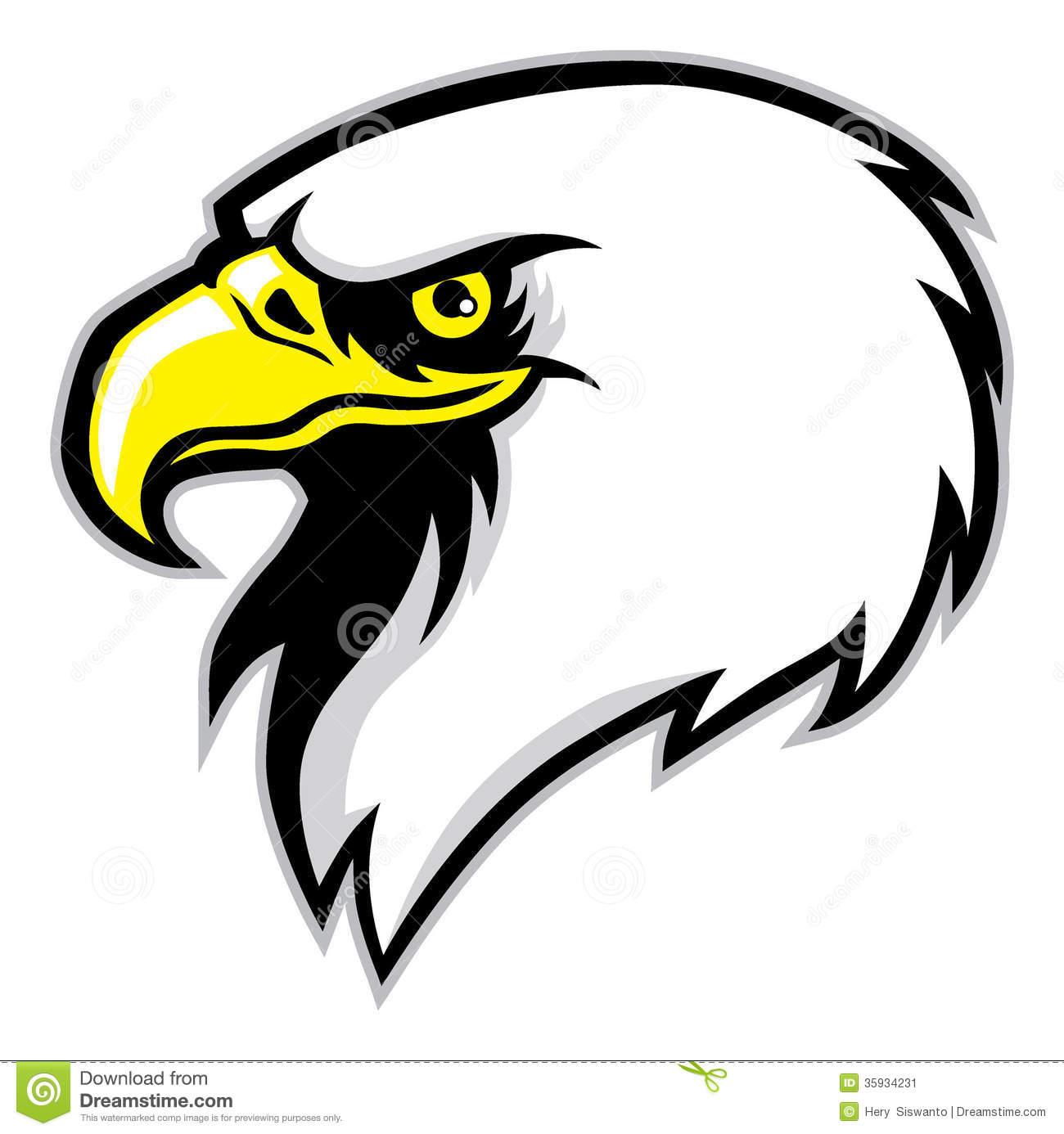 Eagle head clipart free.