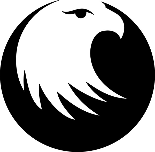 Eagle head Free vector in Coreldraw cdr ( .cdr ) vector illustration.