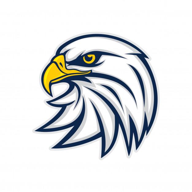 Eagle head logo vector Vector.