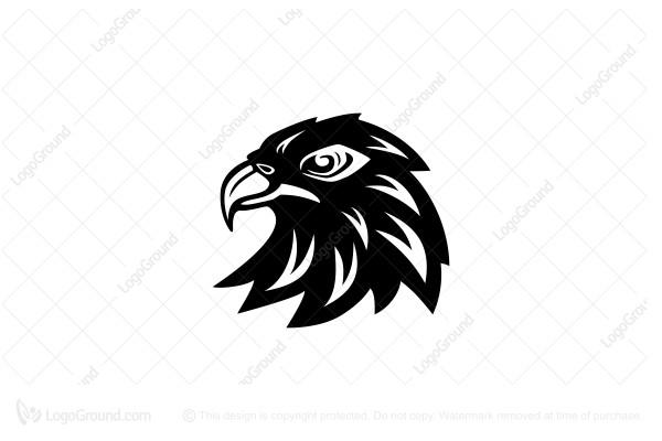 Exclusive Logo 118619, Eagle Head Logo.