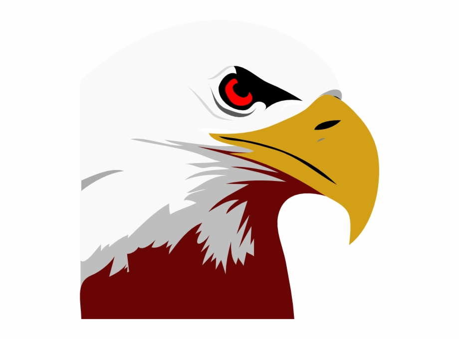 Red White Eagle Clip Art.