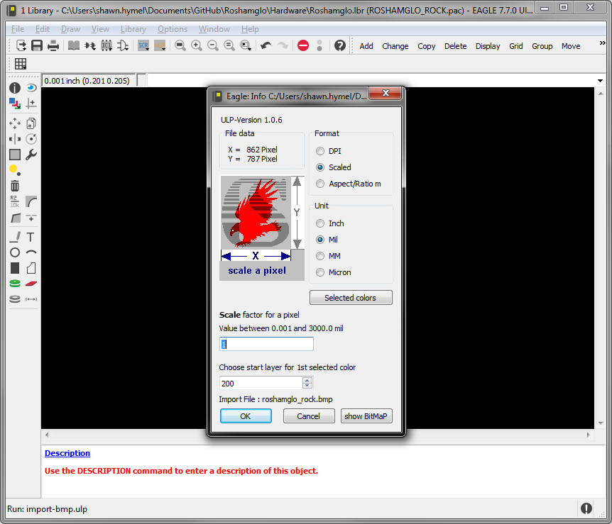 Importing Custom Images into Eagle.