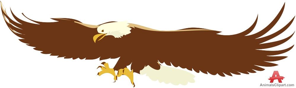 Landing eagle clipart free clipart design download.