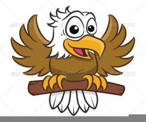 Bald Eagle Mascot Clipart.