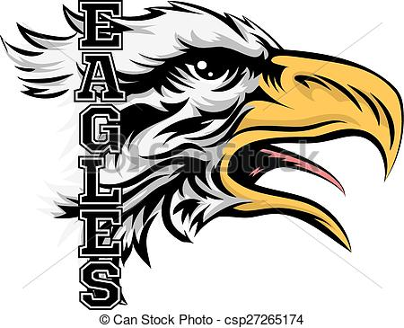 Eagles Mascot.