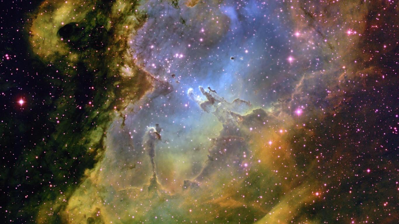 Eagle nebula clipart hd.