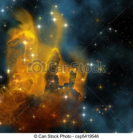 Eagle nebula clipart.