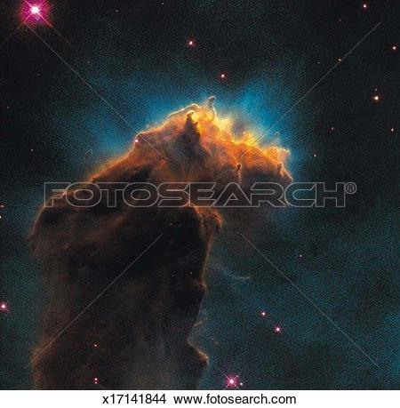 Stock Photo of Starbirth clouds in the Eagle Nebula x17141844.