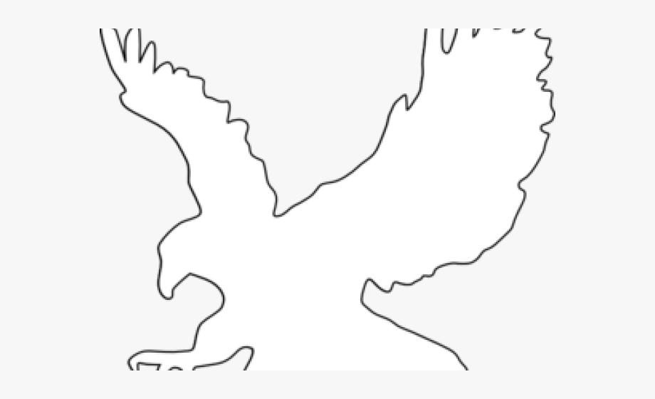 Eagle Clipart Outline.