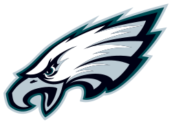 Philadelphia Eagles Logo transparent PNG.
