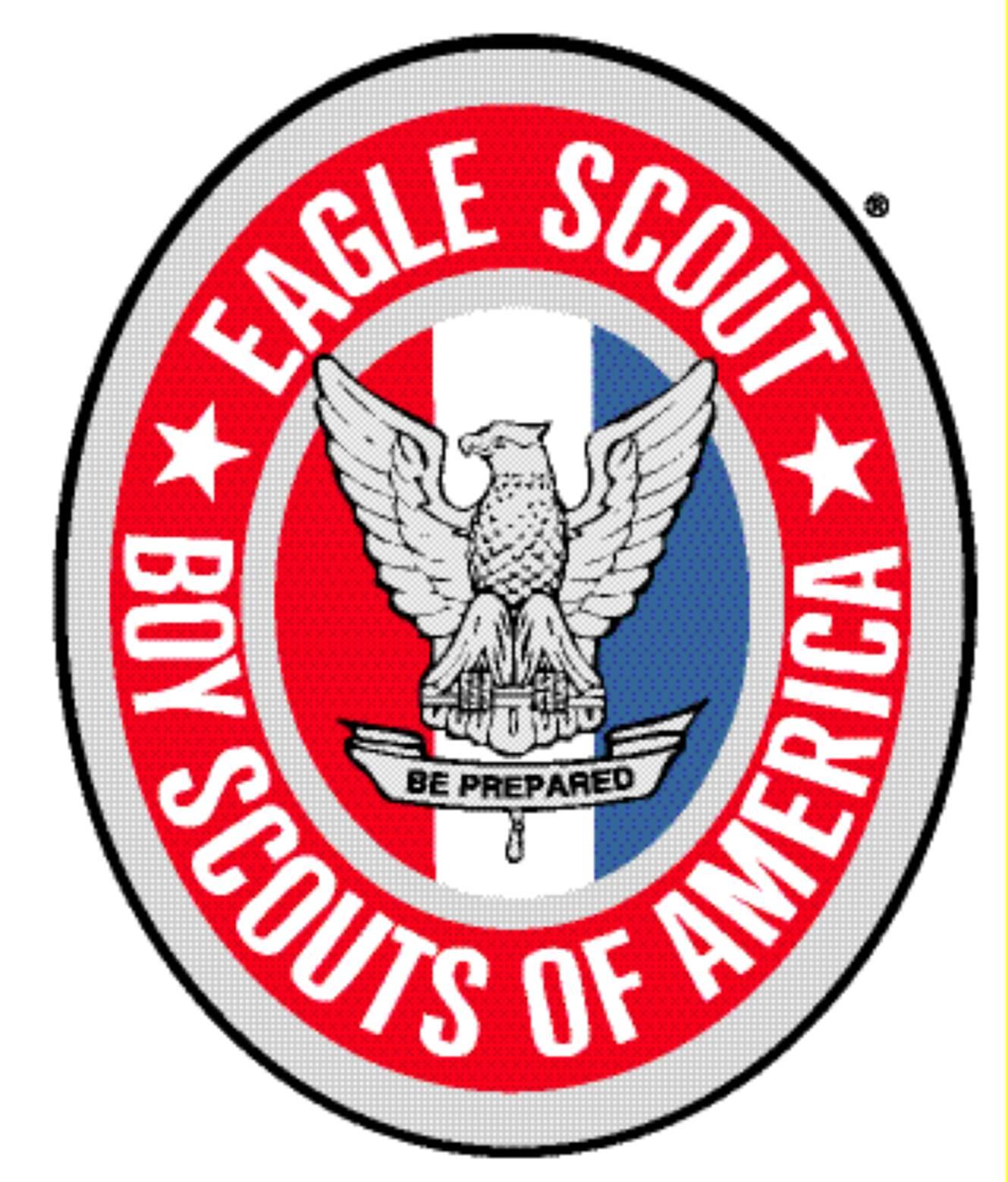 Eagle scout patch clipart.