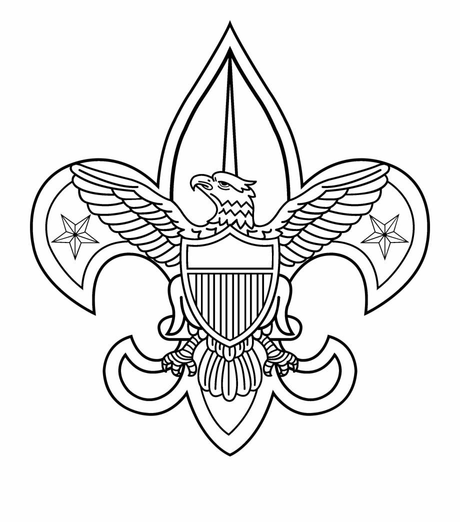 Boy Scouts 2 Logo Black And White.