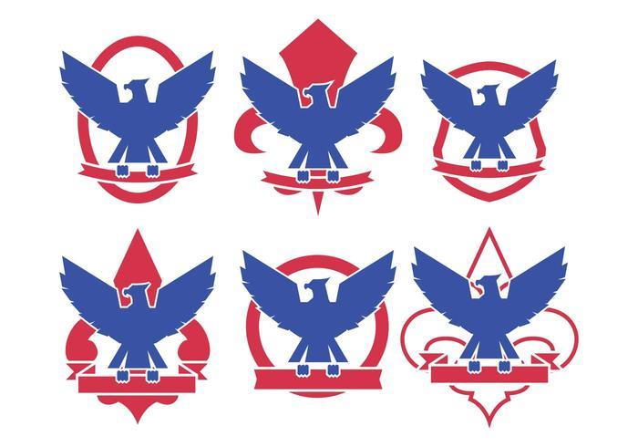 Eagle Scout Logo Vectors.