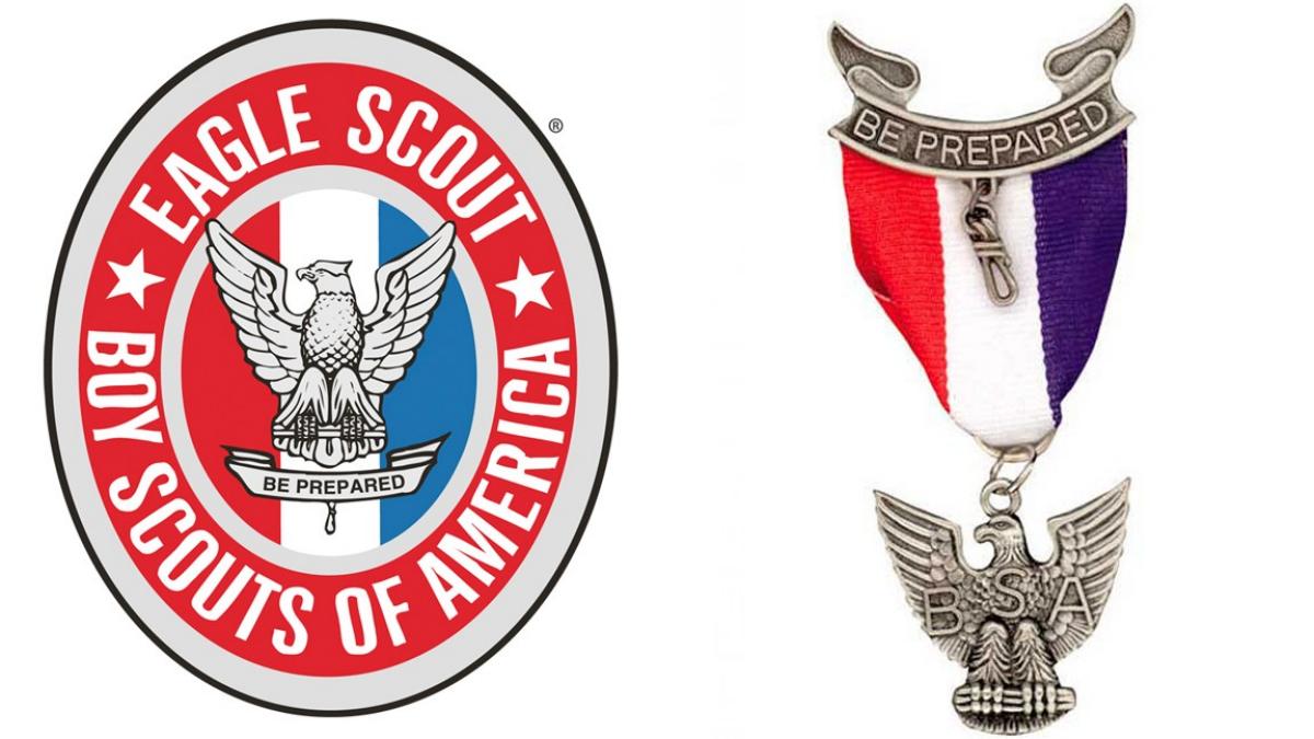 14 cliparts for free. Download Eagle clipart medal boy scouts and.