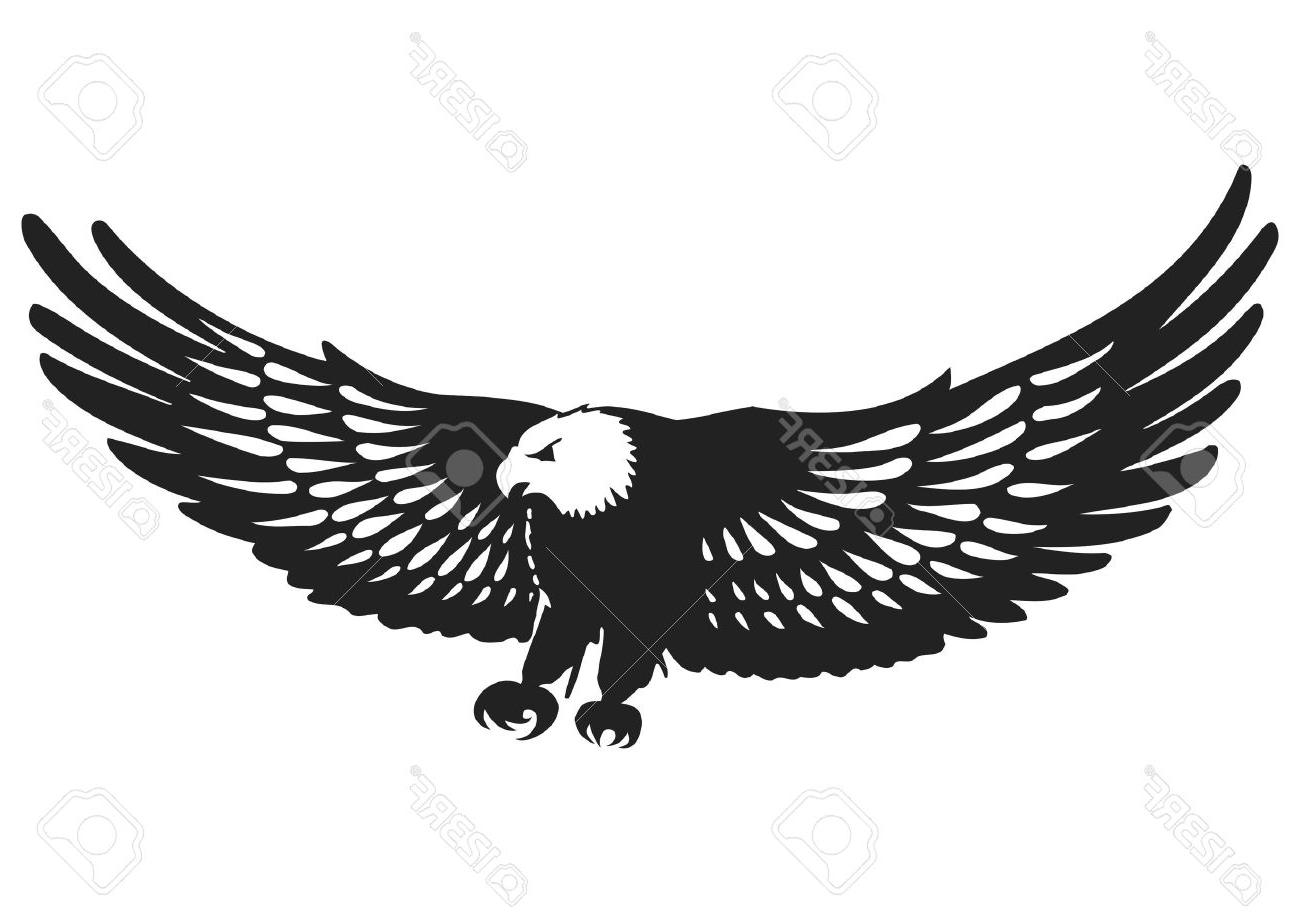 Best HD Eagle Silhouette Vector Photos » Free Vector Art, Images.