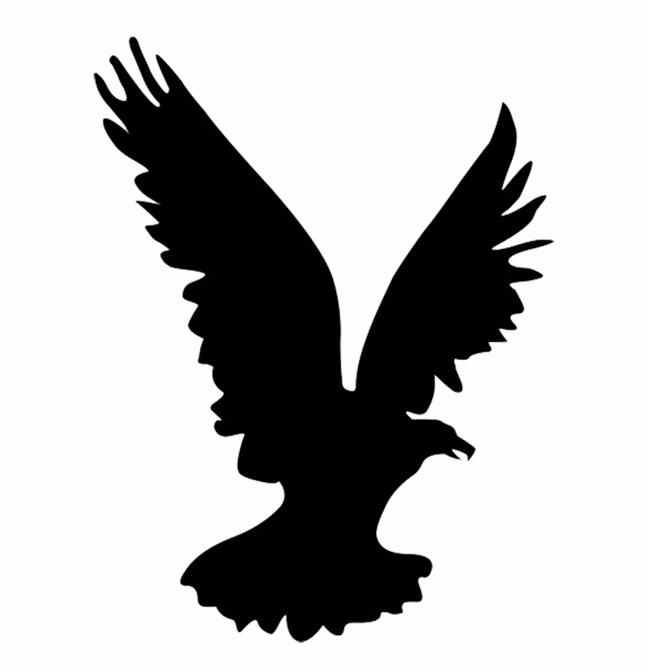 Flying Eagle Silhouette, Heron Silhouette.