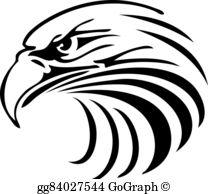 Eagle Silhouette Clip Art.