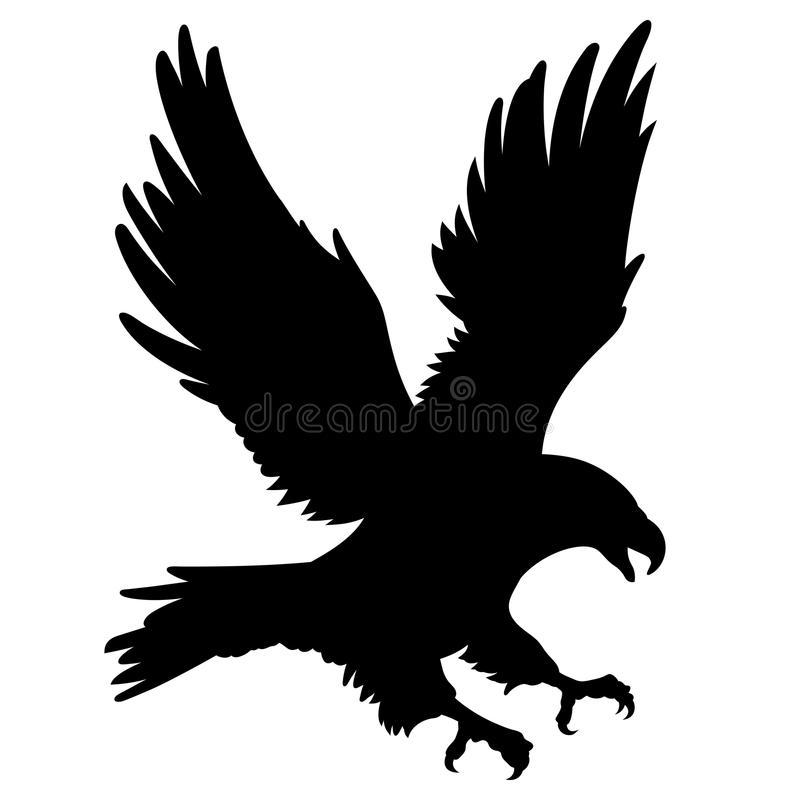 Eagle Silhouette Stock Illustrations.