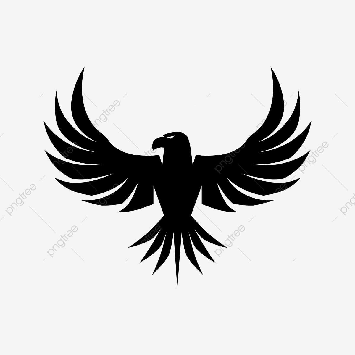 Eagle Emblem Vector, Png, Eagle, Illustration PNG and Vector with.