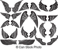 Eagle wings Vector Clip Art EPS Images. 16,570 Eagle wings clipart.