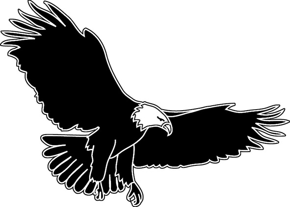 Eagle wings clipart free clipart images 3.