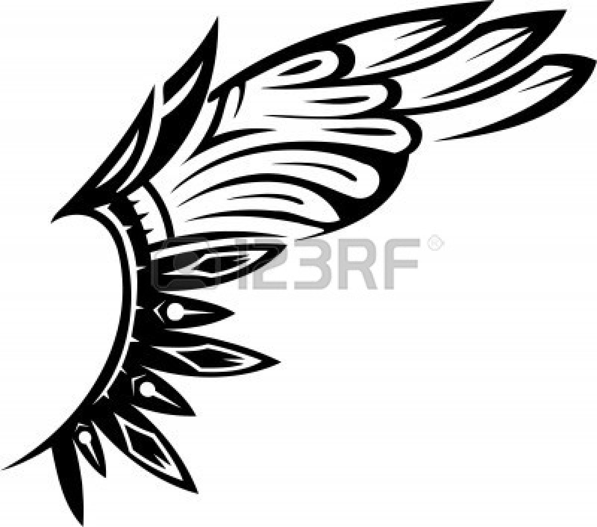 eagle wings spread clipart - Clipground