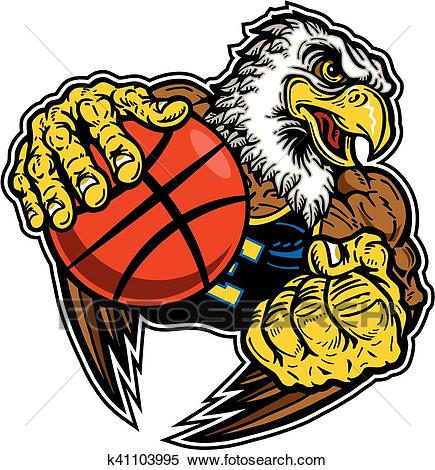 Basketball Clipart eagle 4.