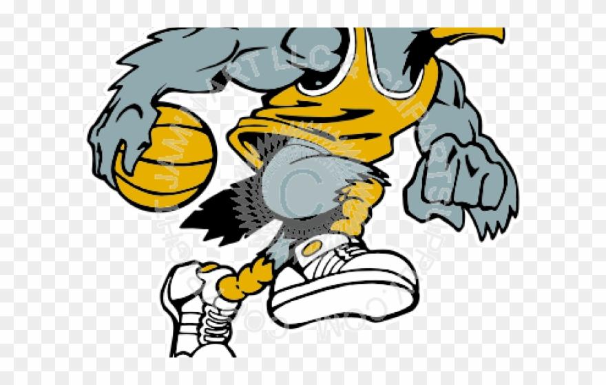 Eagle Clipart Basketball.