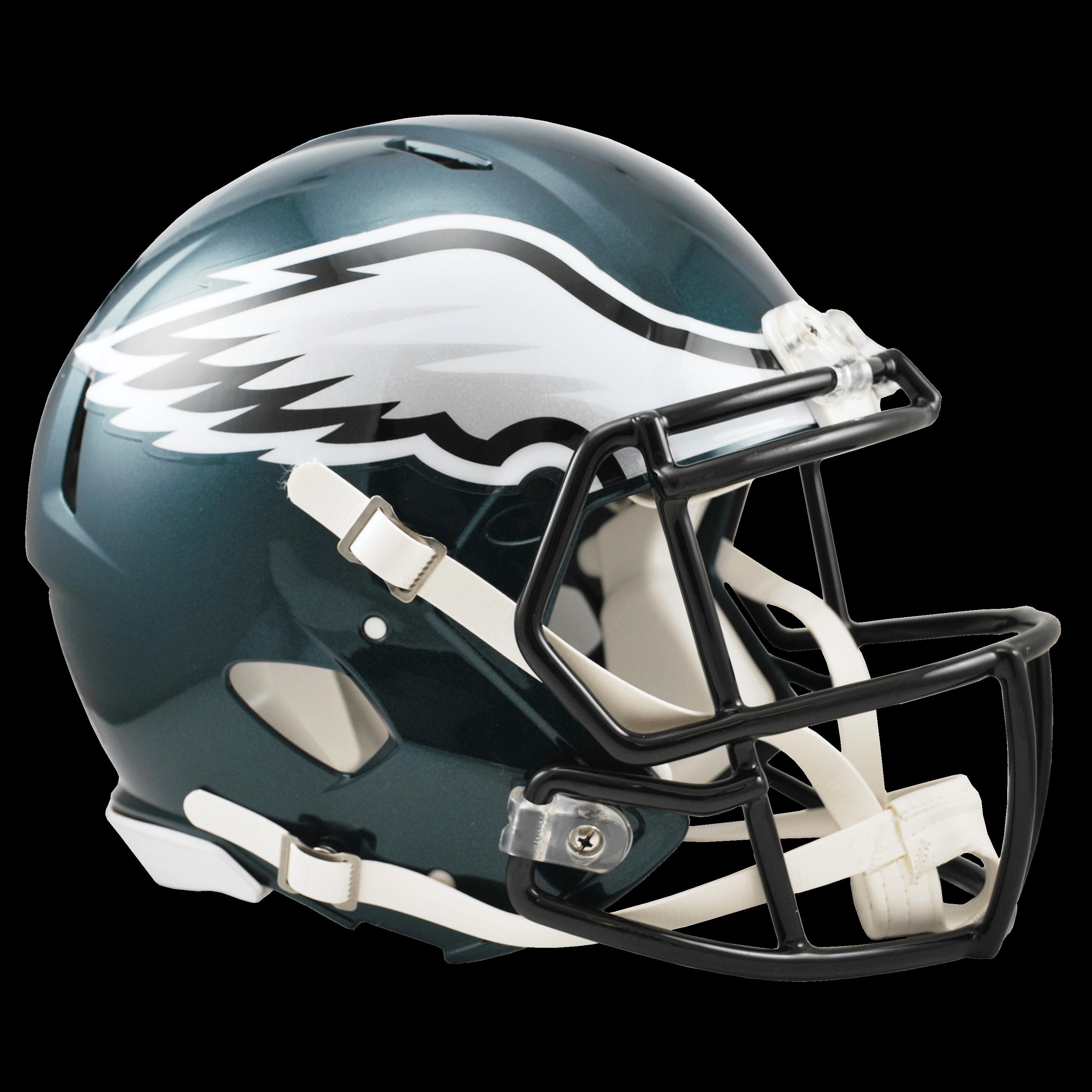 Philadelphia Eagles Helmet transparent PNG.