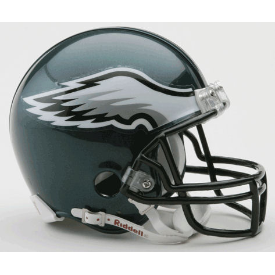 Philadelphia Eagles Mini Football Helmet VSR4.