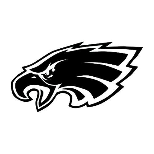 Philadelphia Eagles Logo Silhouette.