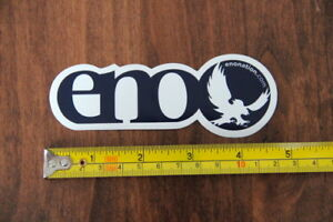 Details about ENO Hammocks Eagles Nest Outfitters STICKER Decal New Navy.