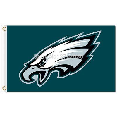 PHILADELPHIA EAGLES FLAG 3\'X5\' NFL LOGO BANNER: FAST FREE SHIPPING.