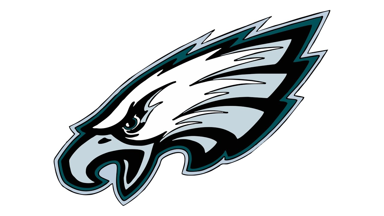 How to Draw the Philadelphia Eagles Logo (NFL).