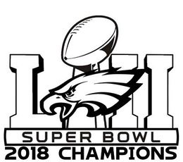 Download philadelphia eagles champions clipart Super Bowl LII.