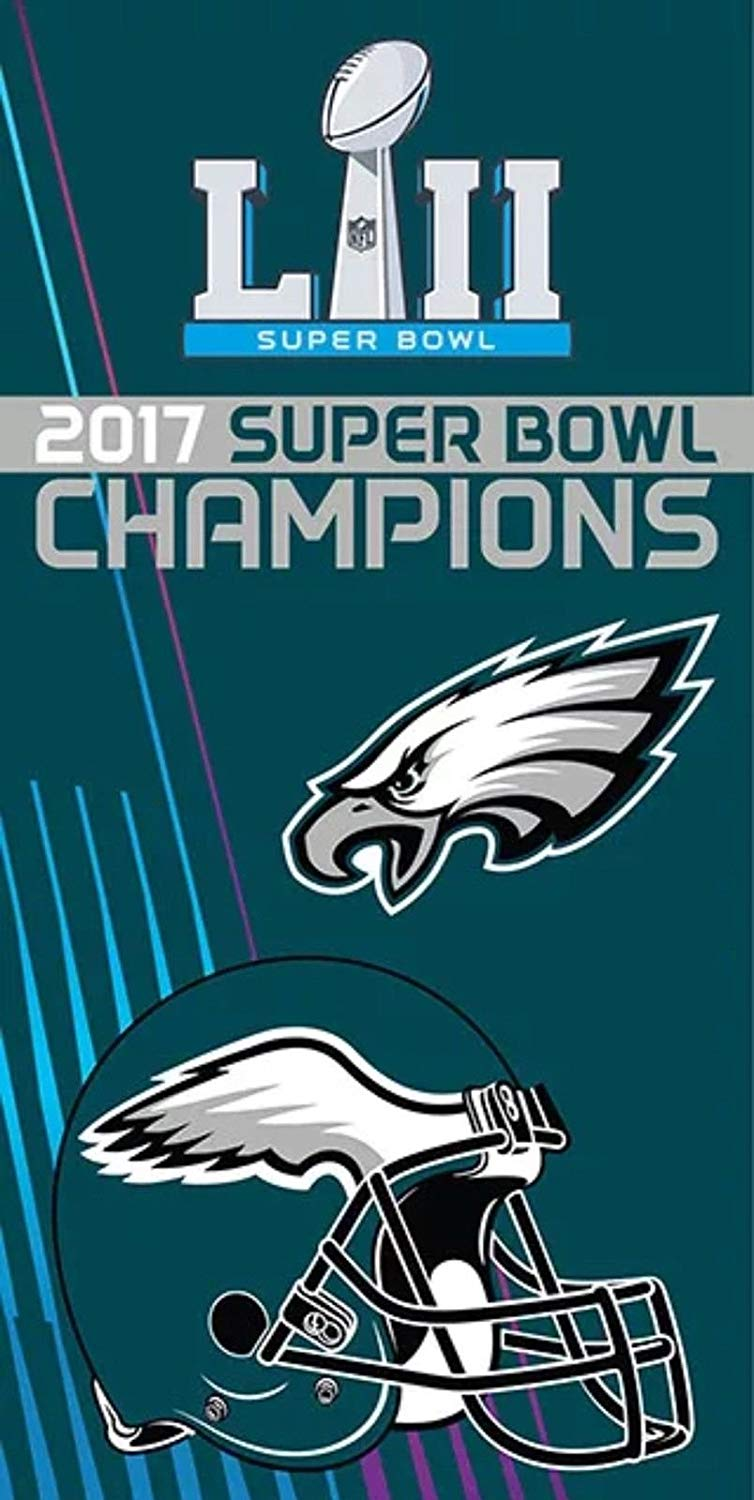 The Northwest Company Licensed 2017 NFL Super Bowl Champions Philadelphia  Eagles Souvenir Beach Towel.