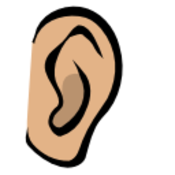 Cartoon Ears Clipart.