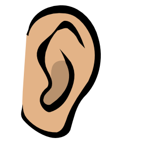 Listening Ear Clipart.
