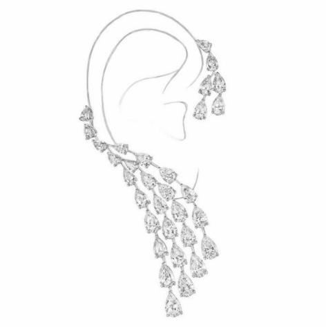 Enchantment Chandelier Ear Cuff.