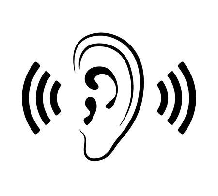 listening ears clipart.