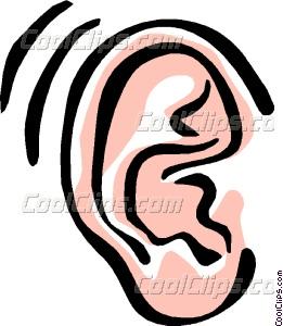 ear Vector Clip art.
