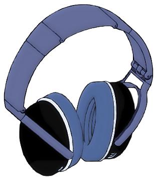 Earphones Clip Art Download.